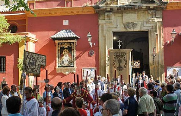 Procesión de Impedidos y Corpus Christi