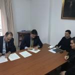 Firma contrato Capilla